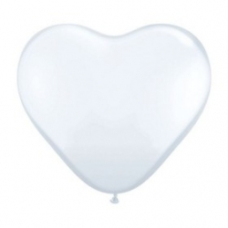 Globos Corazón 3'- 90cm Estándar Qualatex
