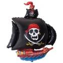 Globo Barco Pirata foil TG