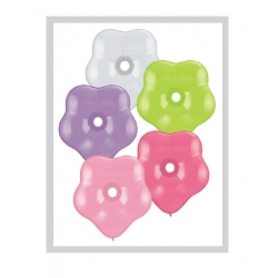 "Globos Flor surtidos 16""-38cm Qualatex (10)"