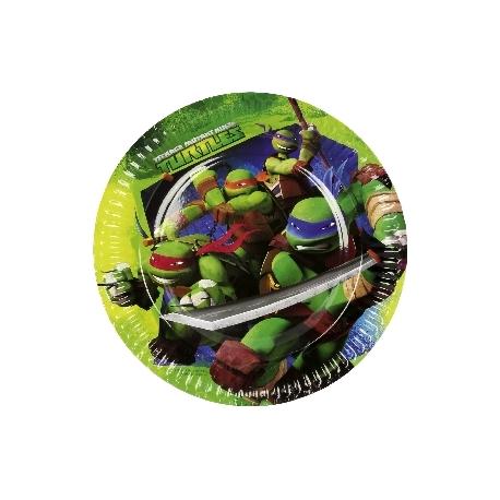 Plato Tortugas Ninja 23cm