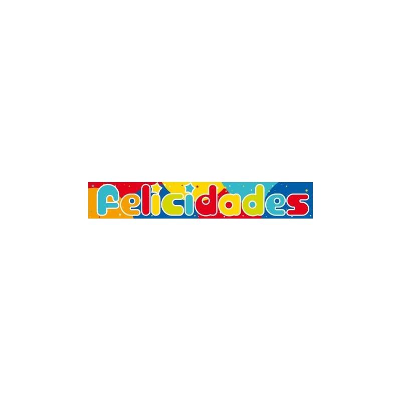 Banda FELICIDADES 90cm