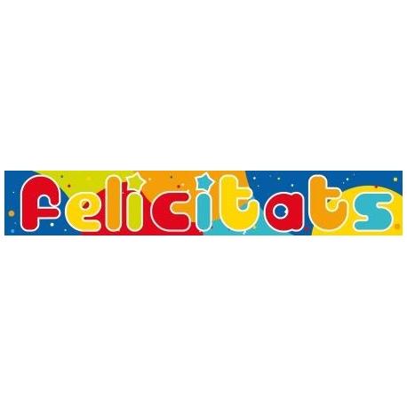 Banda FELICITATS 90cm