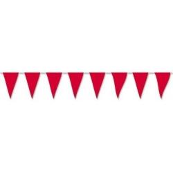 Banderas triángulos colores 5m