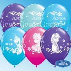 "Globos Frozen 11""-28cm Qualatex (25u)"
