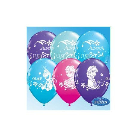 "Globos Frozen 11""-28cm Qualatex"