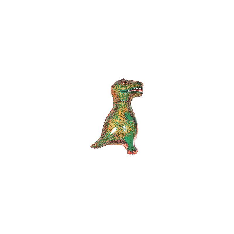 Globo Dinosaurio Rex foil