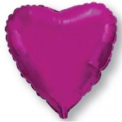 "Globo Corazón de foil 32""-78cm TG"