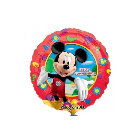 Globo Felicidades Mickey Foil