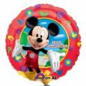 Globo Felicidades Mickey rojo Foil