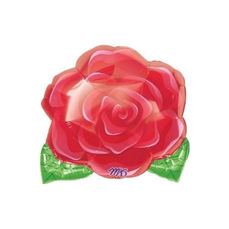 Globo Rosa Abierta Foil