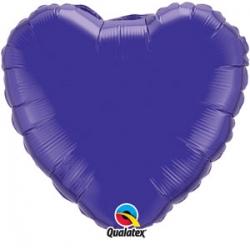 "Globo Corazón de foil 9""-23cm Qualatex"