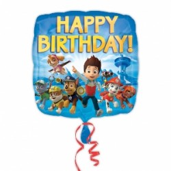 Globo Patrulla Canina Happy Birthday