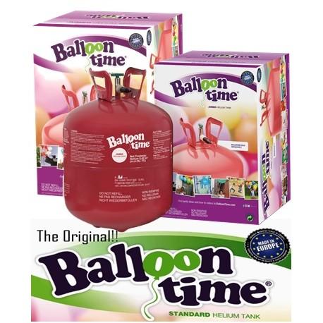 Botella helio desechable grande