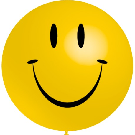 Globos Sonrisa 3'-90cm TG