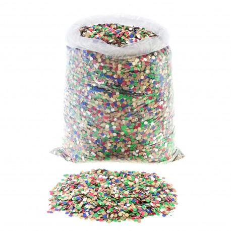Saco de confeti económico multicolor 10kg