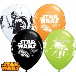 Globos Star Wars Qualatex 6u