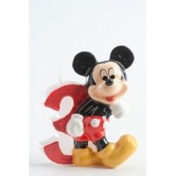 Vela Mickey número 3