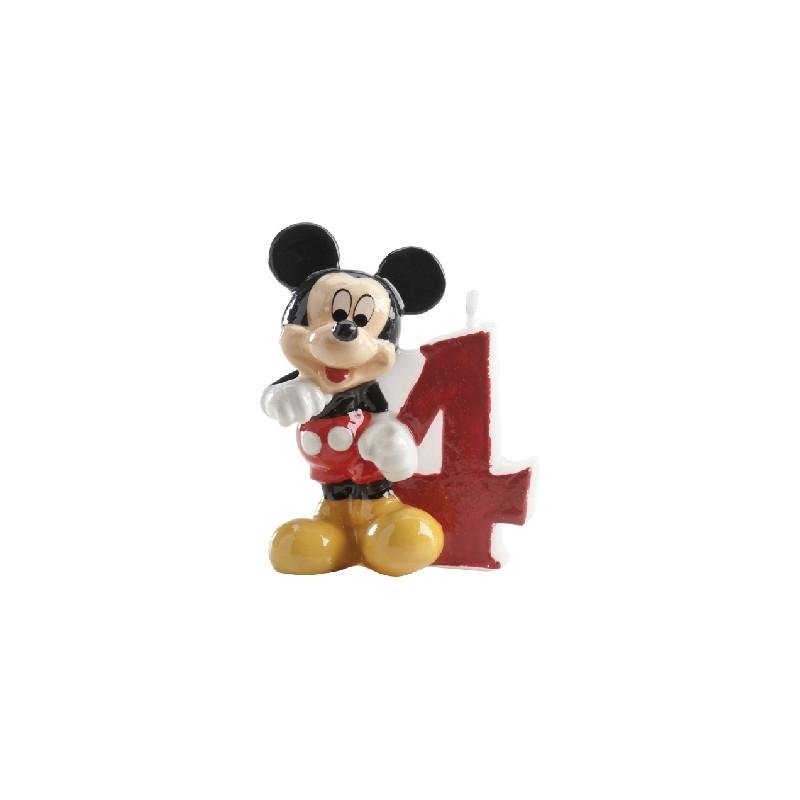 Vela Mickey número 4