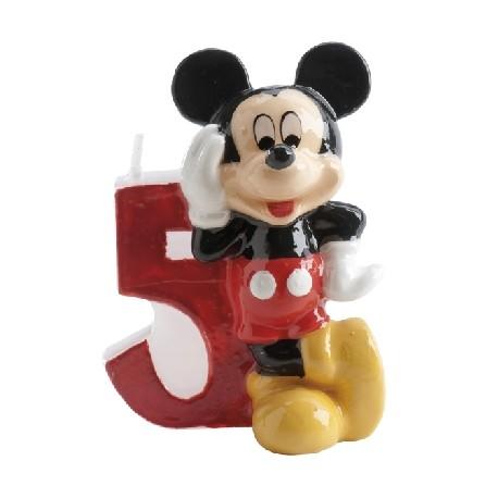 Vela Mickey número 5