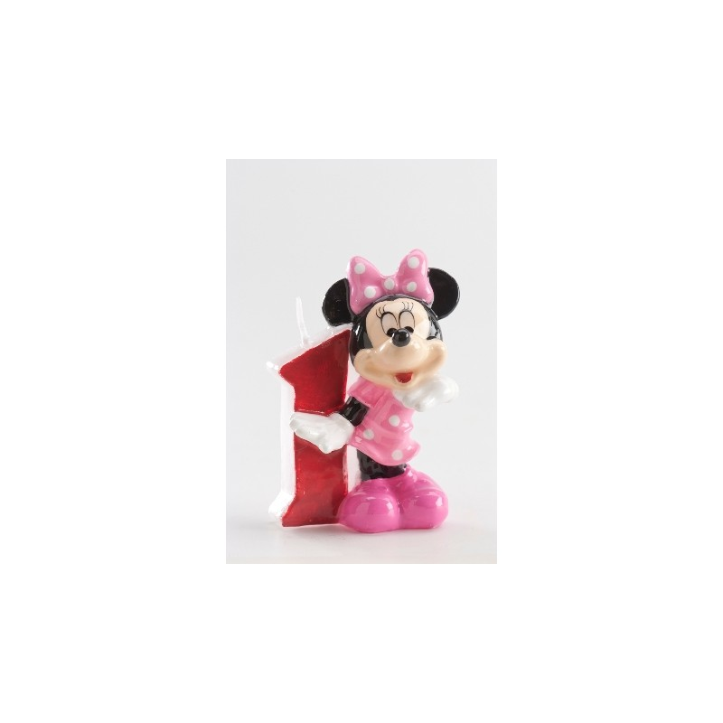 Vela Minnie número 1