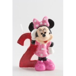 Vela Minnie número 2