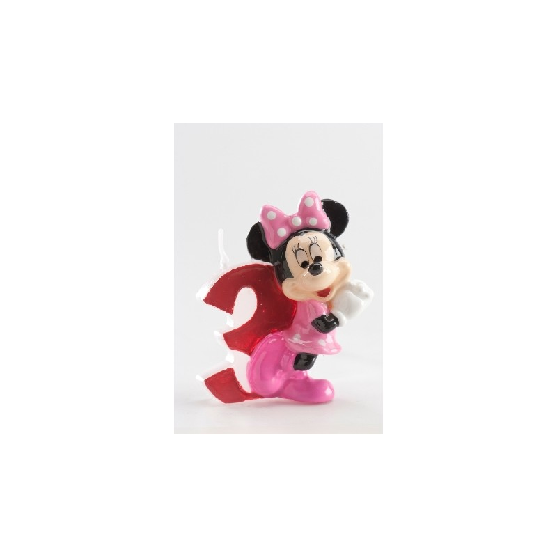 Vela Minnie número 3