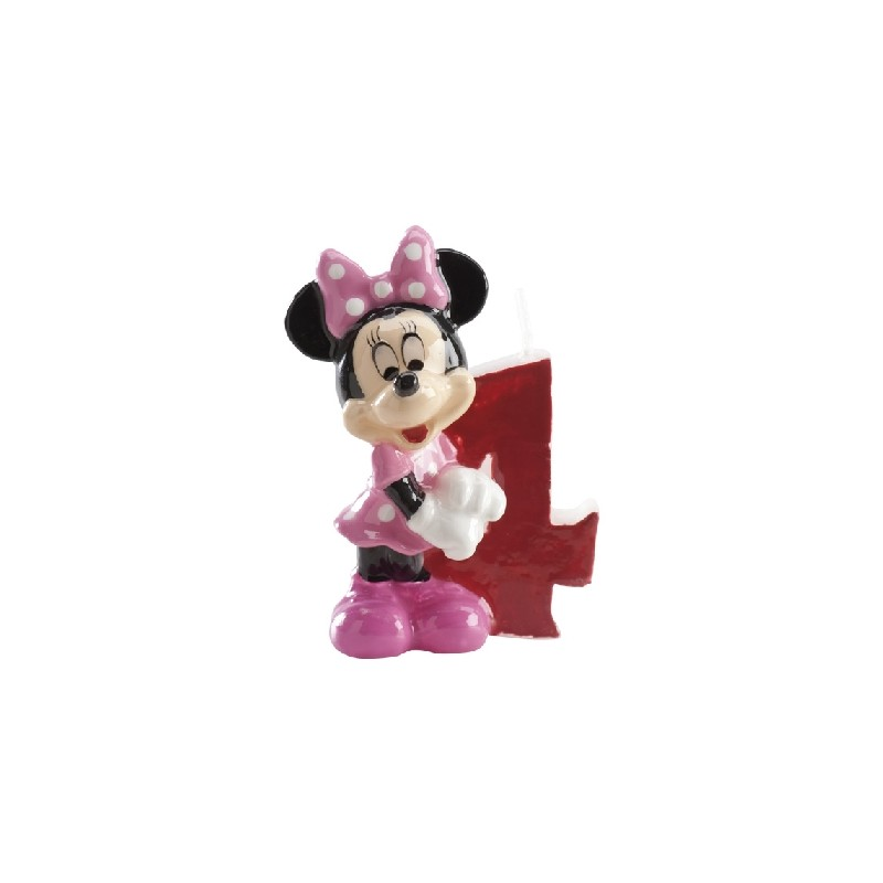 Vela Minnie número 4