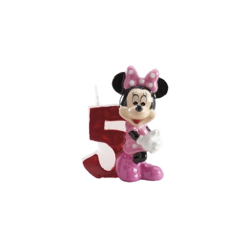 Vela Minnie número 5