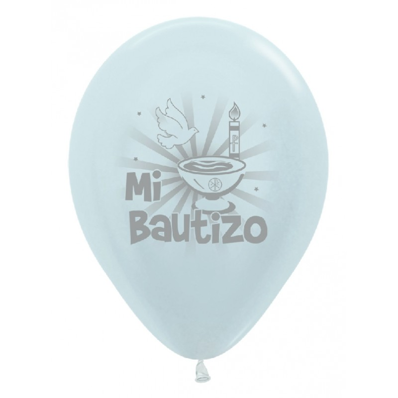 "Globos Bautizo copa 12""-30cm Sempertex"