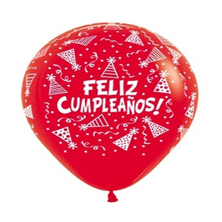 "Globos Feliz Cumpleaños 36""-90cm Sempertex (10)"