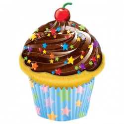Globo CUPCAKE foil Qualatex