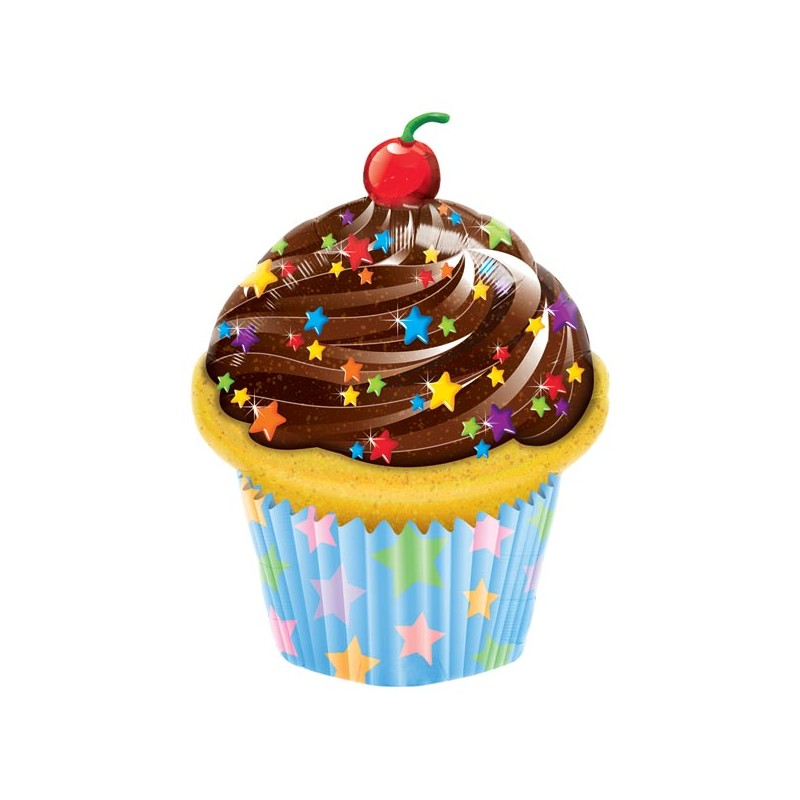 Globo cupcake foil