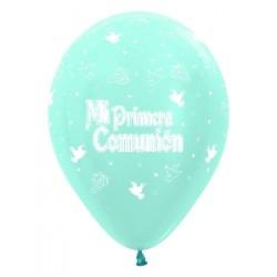 "Globos Comunión 12""-30cm Sempertex"