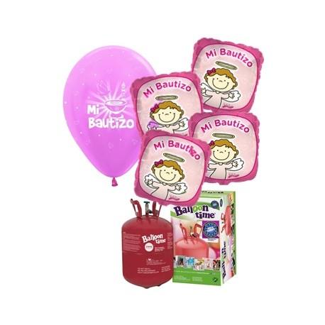 Pack globos MI BAUTIZO Plus