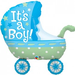 Globo It's a Boy carro foil