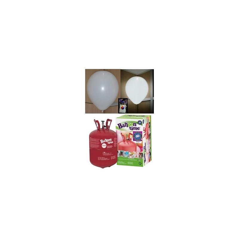 Pack globos led blancos TG plus