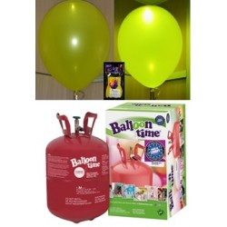 Pack globos LED AMARILLO TG plus