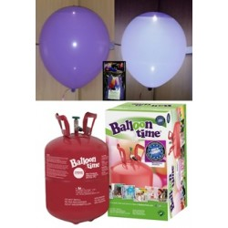 Pack globos LED LILA TG plus