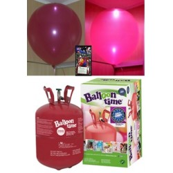 Pack globos LED ROJO TG plus