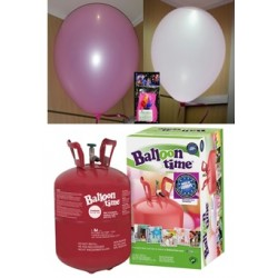 Pack globos LED ROSA TG plus