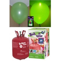 Pack globos LED VERDE TG plus