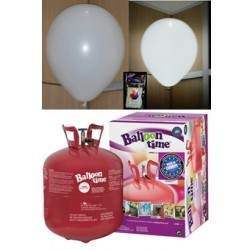 Pack globos LED BLANCO TG grande
