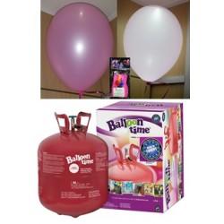 Pack globos LED ROSA TG grande