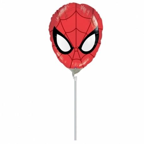 Globo Spiderman cara palito