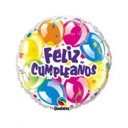 Globo Feliz Cumpleaños globos Qualatex