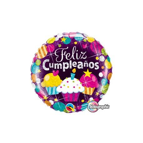 Globo Feliz Cumpleaños Foil