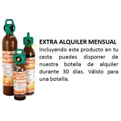 Extra alquiler botella válido 1 MES