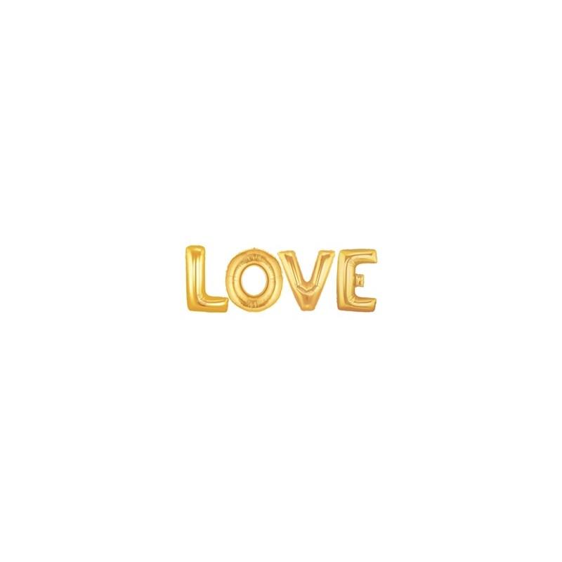 PACK LOVE DORADO