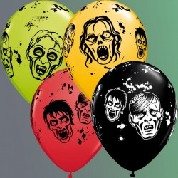 "Globos de ZOMBIES 11""-28cm Qualatex"