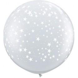 Globos estrellas pequeñas 3'-90cm Qualatex